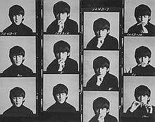 Robert Freeman (b.1936) - The Beatles, Hard Days Night Lp Cover Session, 1964