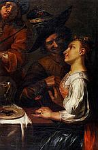 Follower of Gerrit van Honthorst, Peasants