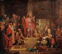 Dutch School (18th century), Christ in the Temple,