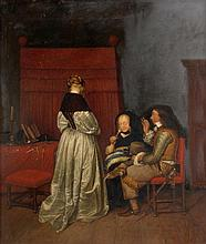 After Gerard ter Borch, The paternal Admonition,