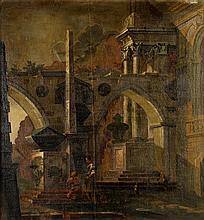 Follower of Antonio Visentini, An architectural