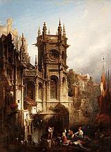 Circle of David Roberts, The Lady Chapel at the