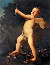 After Baldassarre Franceschini, Cupid With His Bow