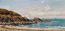 John Brett (1830-1902), A coastal view,