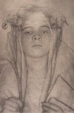 Herbert French (1872-1942). Iris, 1909.