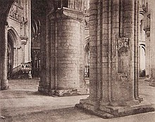 Frederick H. Evans (1853-1943). Ely Cathedral: