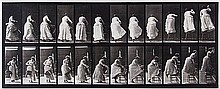 Eadweard Muybridge (1830-1904). Stepping on Chair