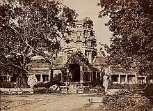 Emile Gsell (1838-1879). Angkor Wat, Cambodia,