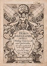 Morgan (Sylvanus) - Horologiographia optica. Dialling Universall and Particular: Speculative and Practicall,