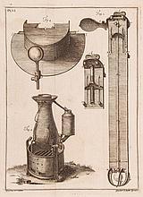 De Luc (Jean André) Contenant l'Histoire Critique du Barometre et du Thermometre..., 2 vol
