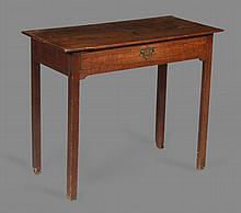 A late George III mahogany Pembroke table , circa 1800