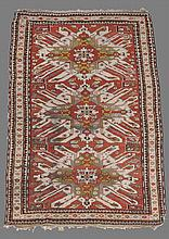 A Kazak carpet, approximately 150cm x 270cm