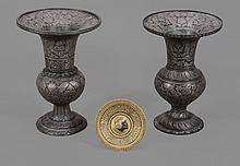 An attractive small damascened metal dish , probably Placido Zuloaga, Eibar
