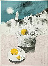 Mary Fedden (1915-2012) - Basket of Lemons