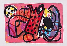 Alan Davie (b.1920) - Zurich Improvisation XXXII