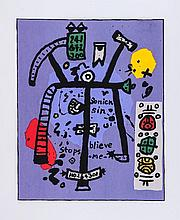 Alan Davie (b.1920) - Sonick Sin