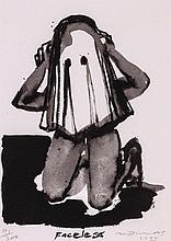 Marlene Dumas (b.1953) - Faceless
