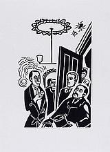 Edward Bawden (1903-1989) - This is Sir Henry Baskervilles' Said Dr. Mortman