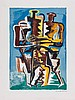 Ossip Zadkine (1890-1967) - Abstract Composition (Two Figures), Ossip Zadkine, £100