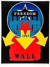 Robert Indiana (b.1928) - Berlin Wall