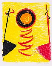 Sir Terry Frost (1915-2003) - Orange Sun Newlyn (k.206)