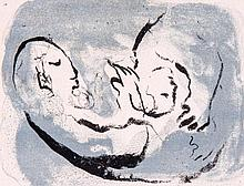 Marc Chagall (1887-1985) - Carte de Voeux L'Anee 1968; and 1972 (m.482; and 641)