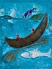 Marc Chagall (1887-1985) - Daphnis et Chloé, The Dead Dolphin and the Three Hundred Drachmas (m.338)