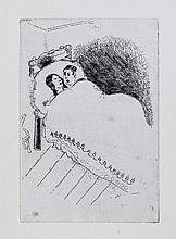 Marc Chagall (1887-1985) - Maternité (k.65-69)