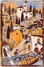 Lill Tschudi (1911-2004) - Morcote (C.LT.81)