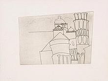 Ben Nicholson (1894-1982) - Pisa as Intended (a.c.61)