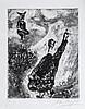 Marc Chagall (1887-1985) - Pl.71, Le Charlatan from, Les Fables de la Fontaine;
