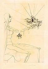 Salvador Dalí (1904-1989) - C'est très Loin... from,
