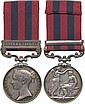 INDIA GENERAL SERVICE MEDAL, 1854-95, single
