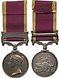 SECOND CHINA WAR MEDAL, 1857-60, single clasp,