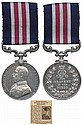 MILITARY MEDAL, GVR (15072 Pte W. Smith 2/S.