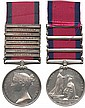 MILITARY GENERAL SERVICE MEDAL, 1793-1814, 8