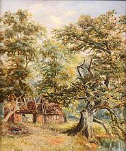 Attributed to Elizabeth Parsons (1831 - 1897) - Woodland Landscape