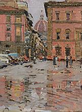Ken Howard (b. 1932) - Florence Reflections