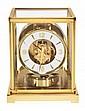 A gilt brass 'Atmos' timepiece Jaeger-LeCoultre,