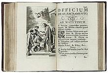 Italian Binding.- Beatæ Mariæ Virginis Officium,