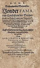 Libavius (Andreas) D.O.M.A Wolmeinendes Bedencken