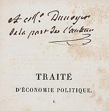 Say (Jean-Baptiste) Traité d'Economie Politique, 3