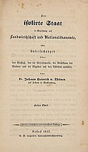 Thünen (Johann Heinrich von) Der isolirte Staat in