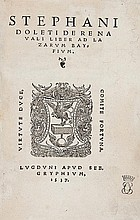 Dolet (Etienne) De re navali liber ad Lazarvm