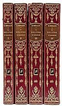 Beraldi (Henri) La reliure du XIXe siecle, 4 vol.,