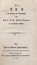 Philosophy.- Schelling (Friedrich Wilhelm Joseph)