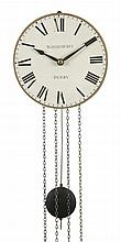A William IV weight-driven hook-and-spike wall clock Whitehurst and Son, Derby