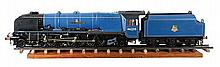 The fine exhibition quality 5 inch gauge model of the London Midland and Sc