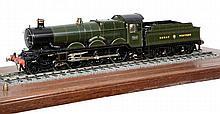 A very fine Gauge 1 model of a Great Western Railway Castle Class 4-6-0 ten