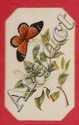 A set of four Chinese rice paper paintings each of